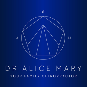 Alice Your Family Chiropractor Logo